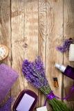 Lavender Spa Royalty-vrije Stock Foto's