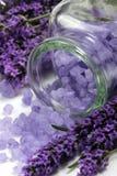 lavender spa Στοκ εικόνα με δικαίωμα ελεύθερης χρήσης