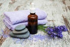 Lavender spa stock afbeeldingen