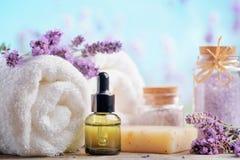 Lavender Spa Stock Image