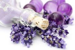 Lavender spa Royalty Free Stock Photos