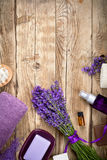Lavender Spa Royalty Free Stock Photos