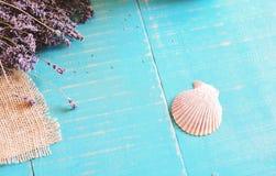 Lavender spa concept Royalty-vrije Stock Foto's