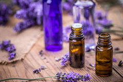 Lavender spa concept Royalty Free Stock Images
