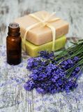 Lavender spa Royalty Free Stock Photography