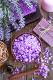 Lavender spa Stock Image