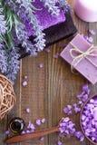 Lavender spa Royalty Free Stock Image