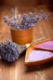 Lavender - spa supplies Stock Image
