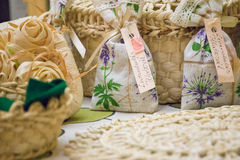 Lavender spa tools Stock Image