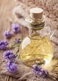 Lavender spa treatment Stock Image