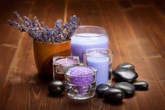 lavender spa wellness Στοκ φωτογραφίες με δικαίωμα ελεύθερης χρήσης