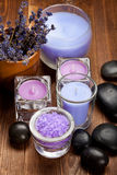 lavender spa wellness Στοκ Φωτογραφία
