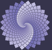 Lavender Spiral flower Royalty Free Stock Photography