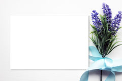 Lavender Spring Mockup. Royalty Free Stock Images