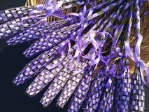 Lavender. Sticks in basket Royalty Free Stock Image