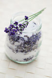 Lavender sugar Stock Images