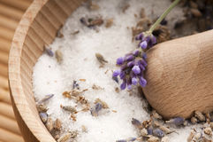 Lavender Sugar Stock Image