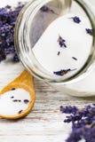 Lavender Sugar Background Stock Image