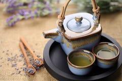 Lavender tea Royalty Free Stock Image