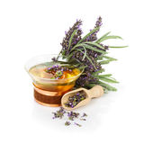 Lavender Tea Royalty Free Stock Photos