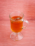 Lavender tea. With dried lavender Stock Photo