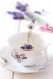 Lavender tea Stock Photos