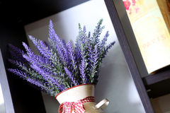 Lavender in a vase Royalty Free Stock Photos