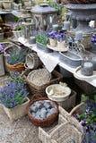 Lavender village shop Stock Photography