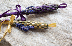 Lavender wands Stock Photo