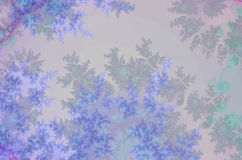 Lavendertreefractal Royalty Free Stock Photo