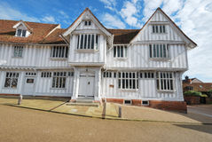 Lavenham guildhall Royalty Free Stock Photo