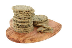 Laverbread Biscuits Stock Photos