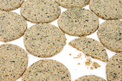 Laverbread Oatcakes Royalty Free Stock Photos