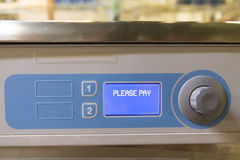 Laverie automatique de service d'individu Photo stock