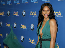 Laverne Cox. At the 69th Annual Directors Guild Of America Awards held at the Beverly Hilton Hotel in Beverly Hills, USA on February 4, 2017 Stock Photos