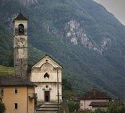Lavertezzo在瓦尔Verzasca 瑞士 库存照片