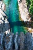 Lavertezzo, Verzasca谷,提契诺州,瑞士,欧洲小行政区  图库摄影