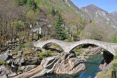 Lavertezzo, Suisse Photographie stock libre de droits