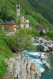 Lavertezzo,Ticino Stock Photos