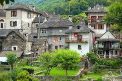 Lavertezzo - Val Verzasca Fotos de archivo libres de regalías