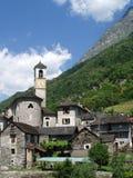 Lavertezzo Valle Versazca Svizzera Fotografia Stock Libera da Diritti