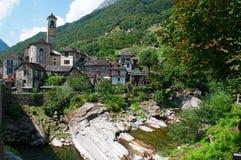 Lavertezzo, Verzasca Valley, Canton of Ticino, Switzerland, Europe Stock Photos