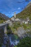 Lavertezzo Verzasca View Stock Photos