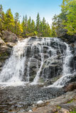 Laverty Falls. (Fundy National Park, New Brunswick, Canada Stock Photos