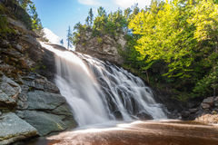 Laverty Falls (long exposure). Laverty Falls (Fundy National Park, New Brunswick, Canada Royalty Free Stock Images