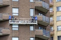 Laveur de vitres Photo stock