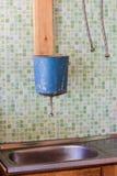 Lavez-vous toujours les mains avant la consommation Image stock