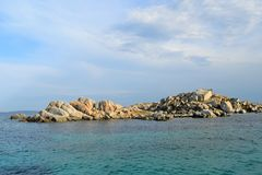 Lavezzi Islands in Corsica France royalty free stock photo