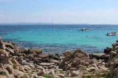 Lavezzi islands stock image