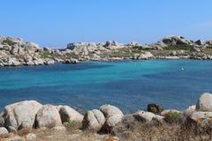 Lavezzi islands royalty free stock photos